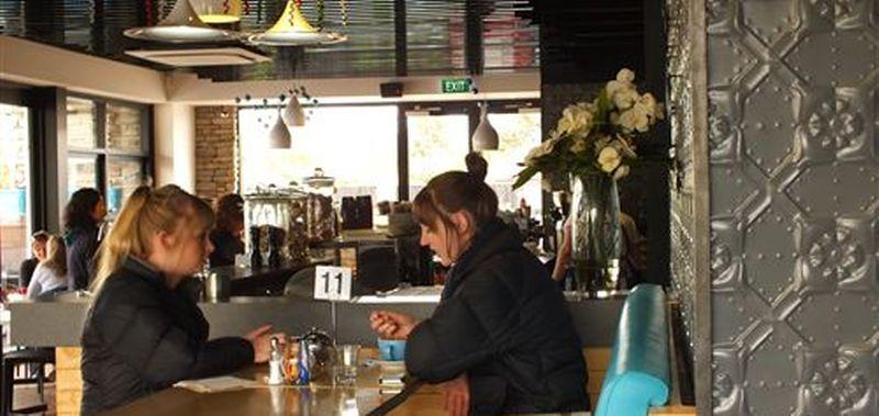 LB & Co espresso in Christchurch, New Zealand